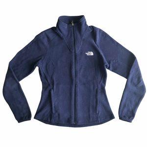 The North Face Women's Navy Fleece Zip Jacket XS